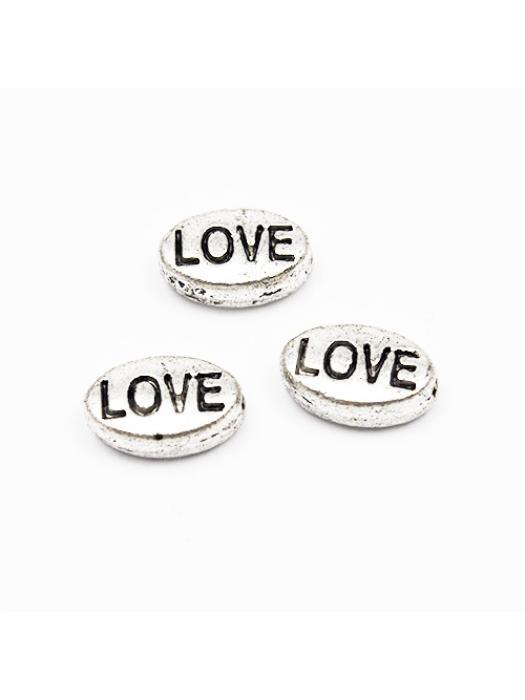 Bead silver love