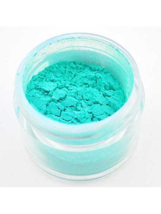 Pigment for resin pearl aqua