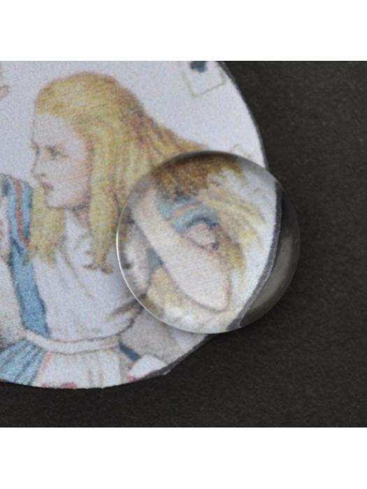 Glass Cabochon 12 mm transperent
