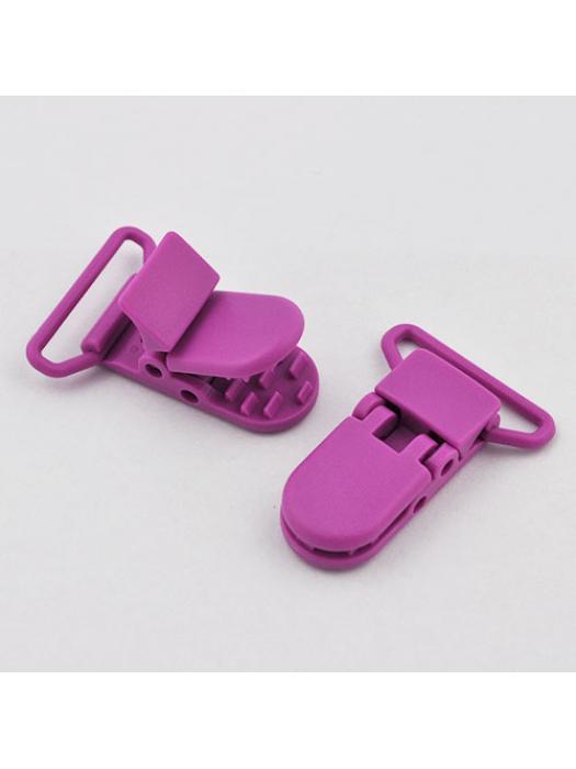 Pacifier Clip purpel