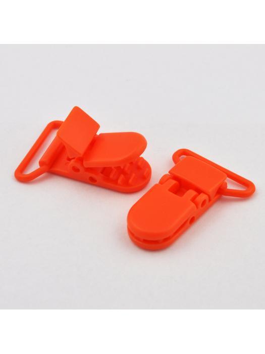 Pacifier Clip orange