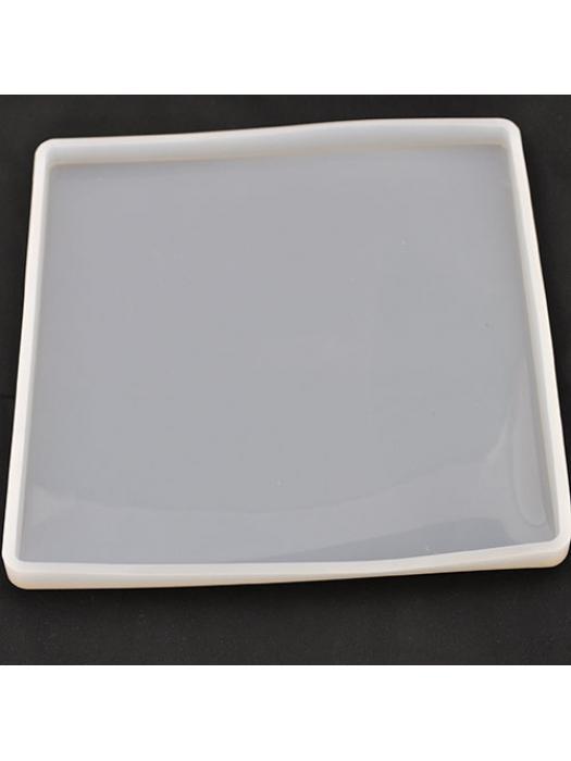 Silicone mold square 186 mm