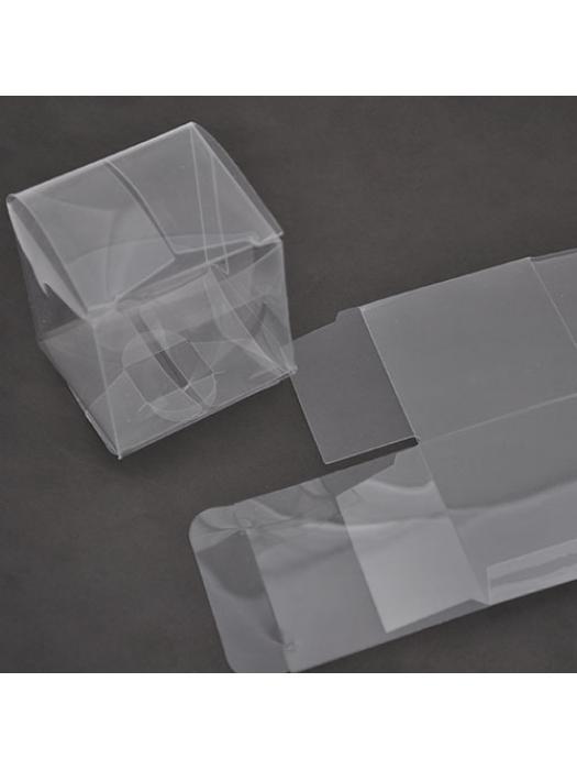 Box transparent 5 x 5 cm