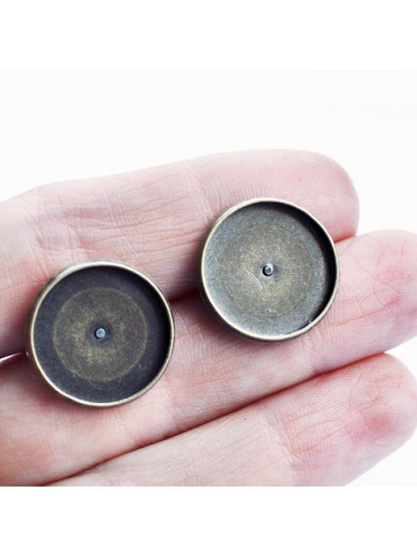 Earring setting 16 mm