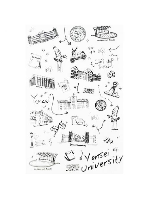 Stickers Yonsei University