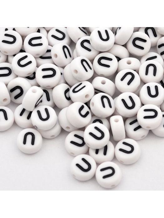 Acrylic bead U