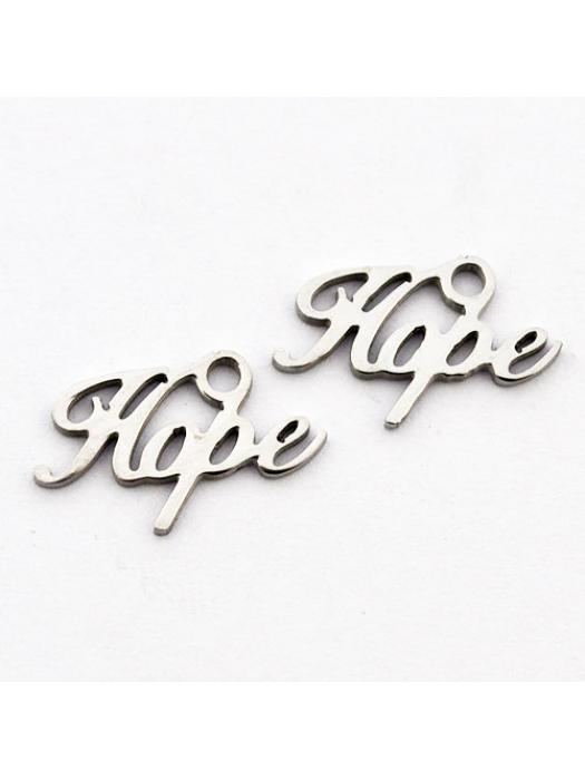 Pendant Stainless Steel hope