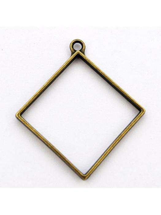 Pendant  link antique rhombus