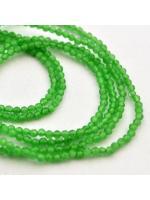 Bead round 2 mm green