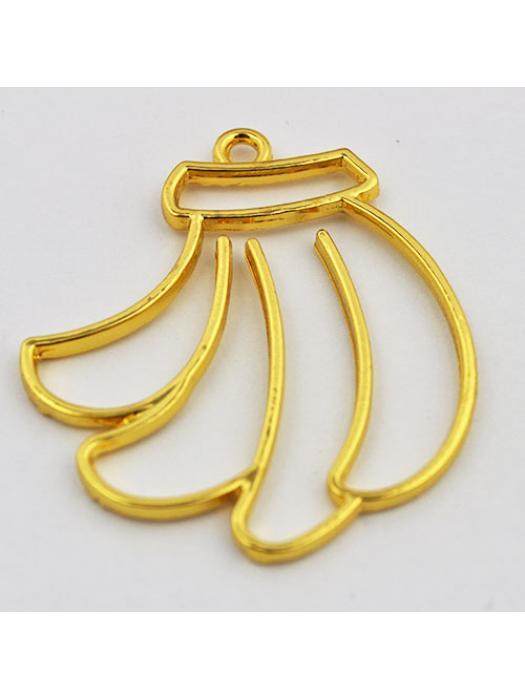 Pendant gold bananas