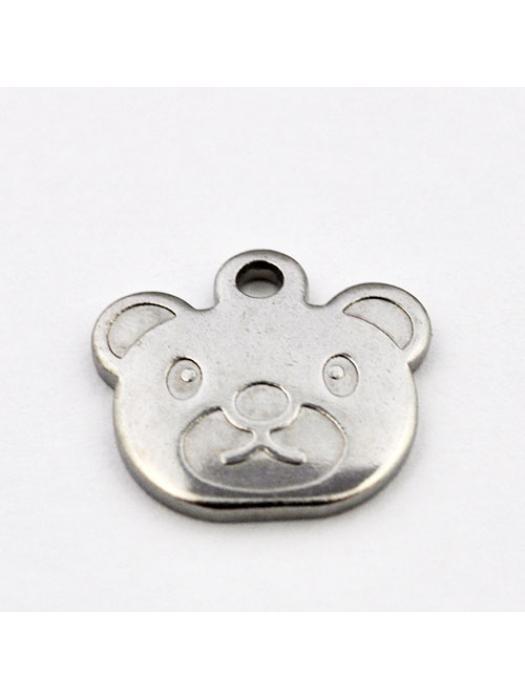 Pendant Stainless Steel bear head