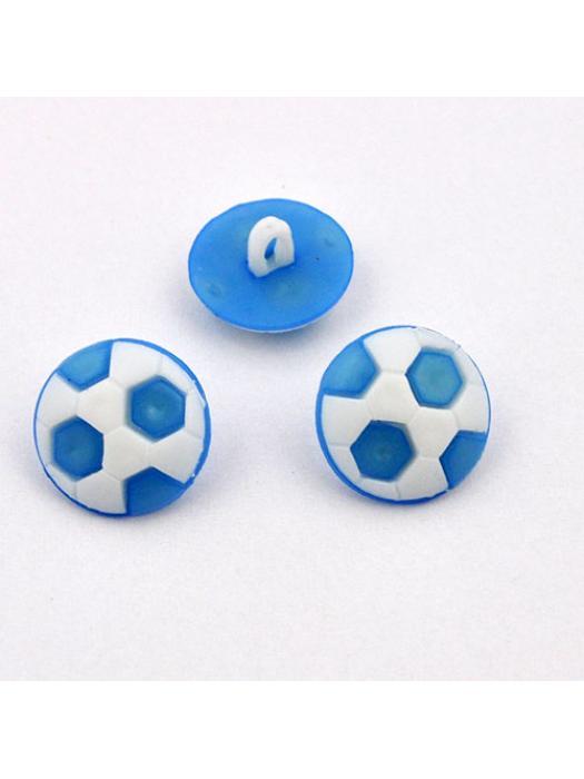 Button ball blue