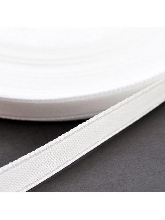 Ribbon satin 6 mm white