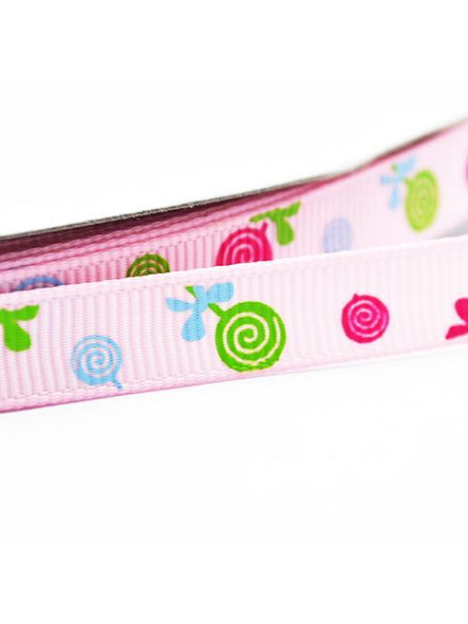 Ribbon pink candy 9 mm
