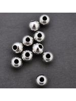 Spacer bead  steel 6x 4,8 mm