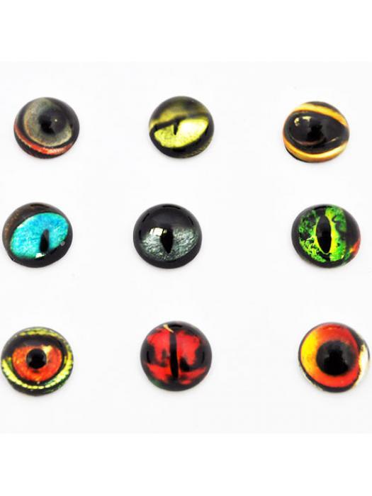 Glass Cabochon 12 mm  eye