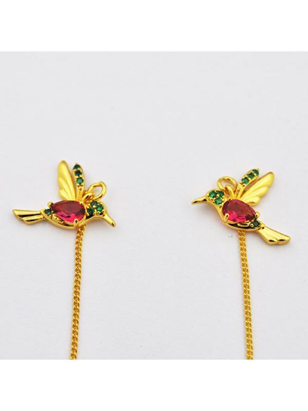 Earring  hummingbird