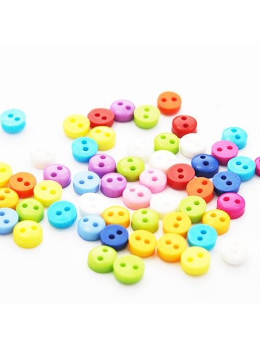 Button 6 mm 10 pcs