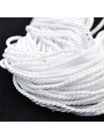 Cord white 2 mm