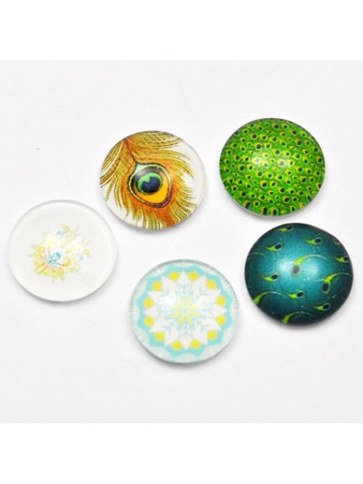 Glass Cabochon 12 mm