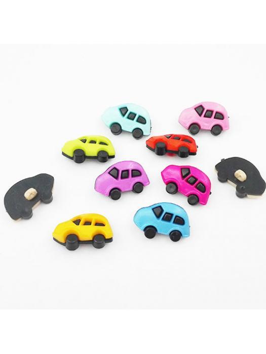 Button car plastic