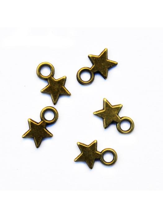 Pendant star 5 pcs