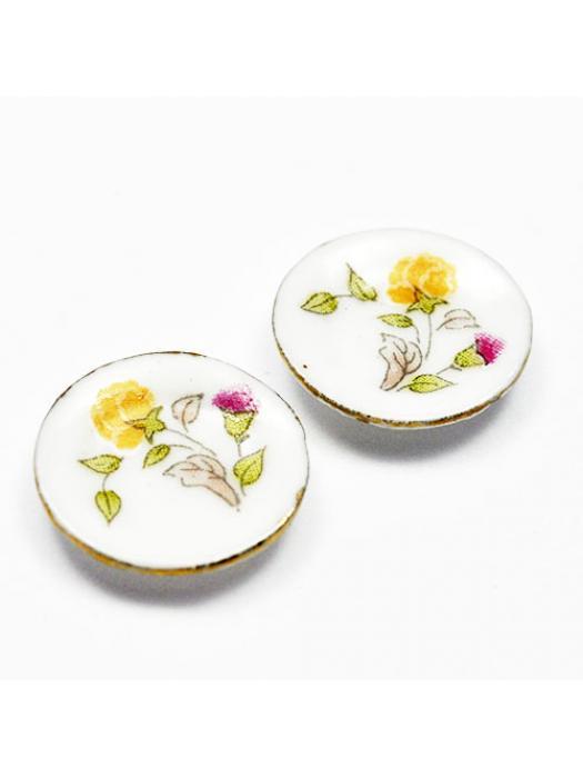 Plate porcelain plate