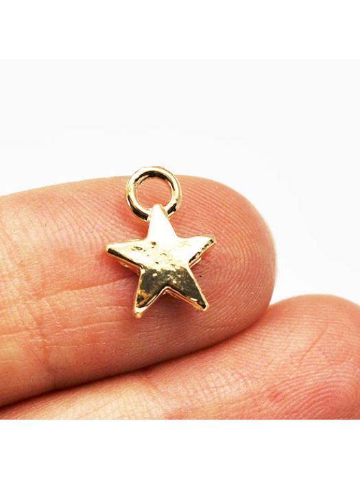 Pendant star gold