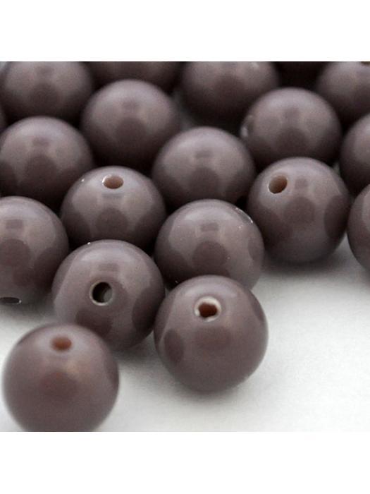 Acrylic bead 8 mm 10 pcs