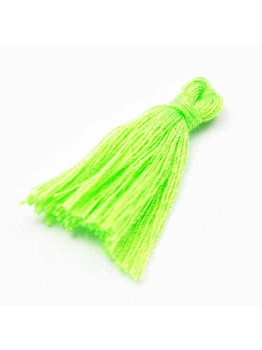 Pompon neon green