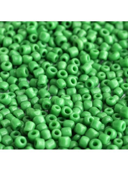 Seed bead green 2 mm