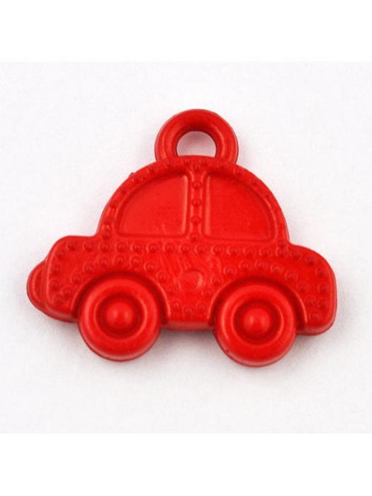 Pendant acrylic car red