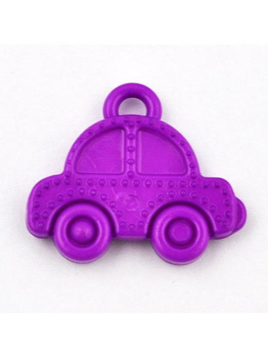 Pendant acrylic car purpel
