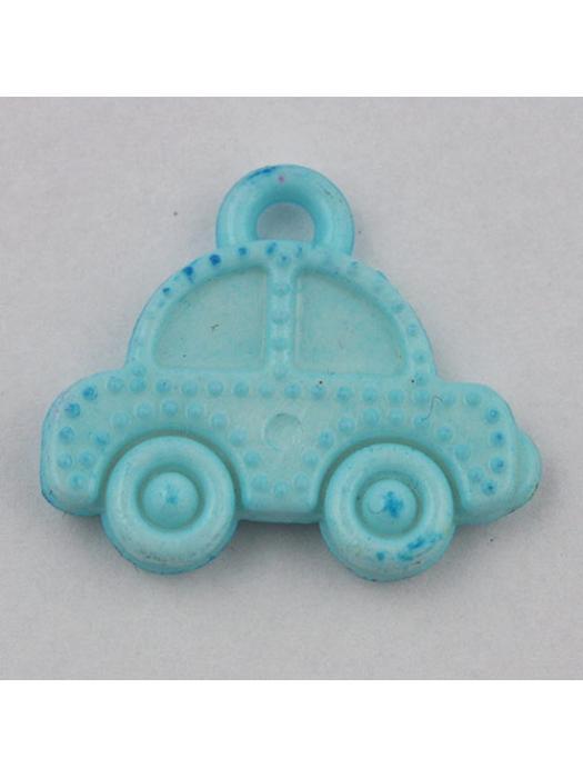 Pendant acrylic car light blue