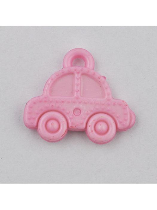Pendant acrylic car light pink