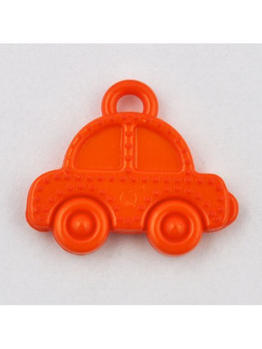 Pendant acrylic car orange