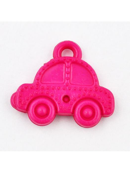 Pendant acrylic car dark pink