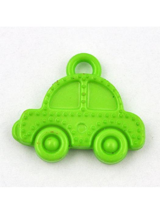 Pendant acrylic car green