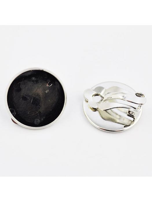 Clip-on earring setting 18 mm