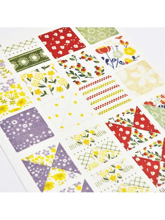 Stickers flowery