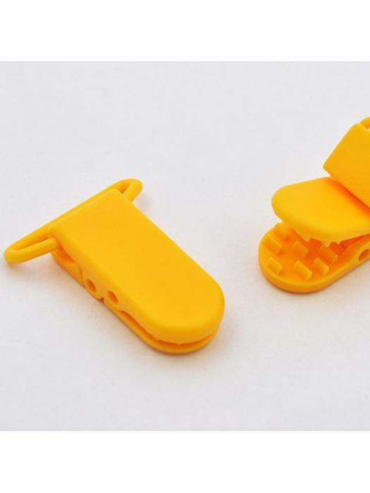 Pacifier Clip light orange