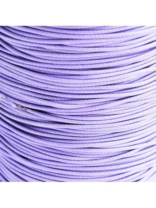 Cotton wax 1 mm lavender