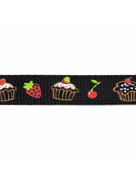 Ribbon muffin purpel 10 mm