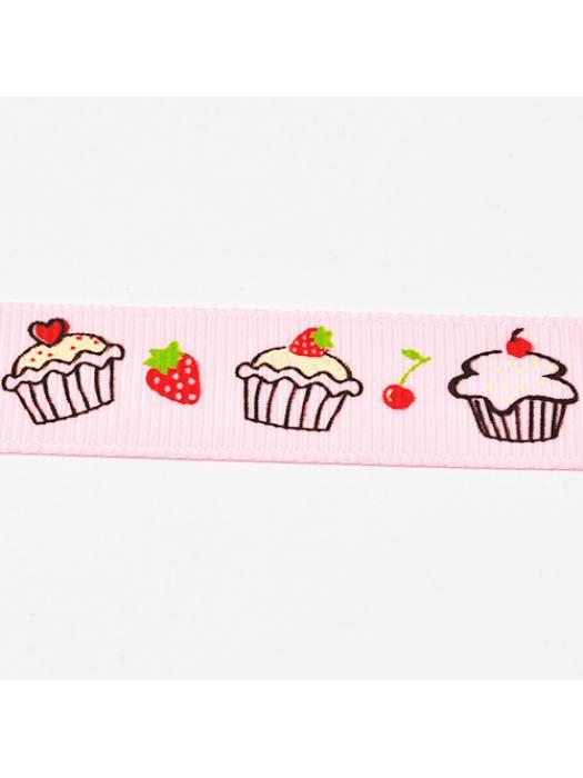 Ribbon muffin pink