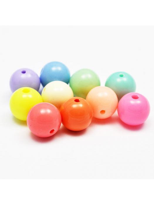 Acrylic bead 12 mm 10 pcs
