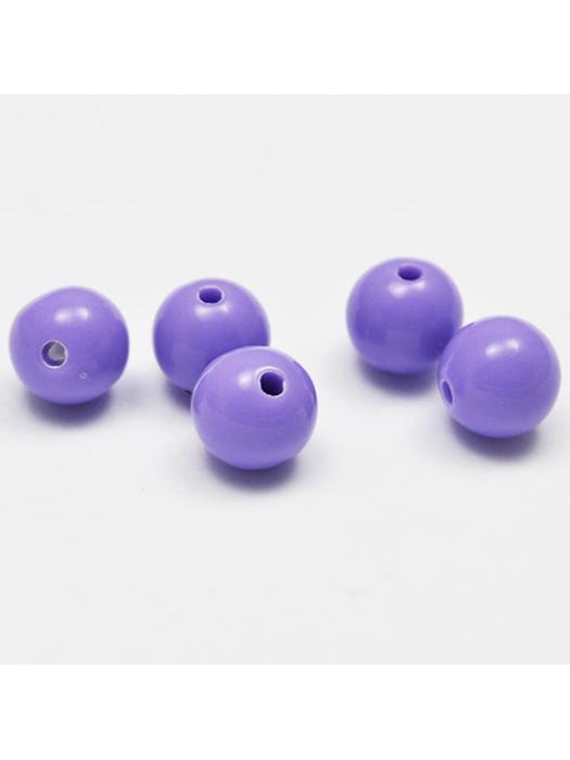 Acrylic bead 10 mm 10 pcs